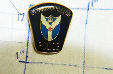CANADA, OTTAWA - CARLETON POLICE METAL LAPEL HAT PIN