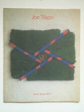 JOE TILSON, 'Recent Works' exhibition catalogue, Waddington gallery, 1988