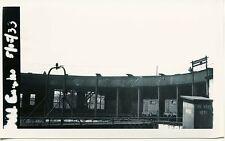 7F468 RP 1933/1970s? BOSTON & ALBANY ? RAILROAD ROUND HOUSE SPRINGFIELD MA
