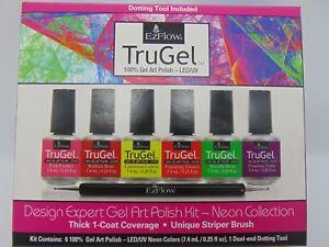 EzFlow TruGel Design Expert Neon Gel Art #42539