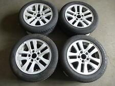 4 Alufelgen BMW 3er E90 Styling156 6775595 7x16 ET34 Winterreifen 205 55 GKW32