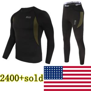 Thermal underwear sets Men Women Winter Long Johns Sweat fleece quick-dry Thermo