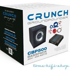 Crunch CBP-500 Watt Bass Set Auto Hifi Komplettanlage Subwoofer Verstärker PKW