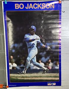 Vintage Starline 1987 Bo Jackson Poster KC Royals Baseball MLB Nice Shape!