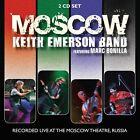 KEITH EMERSON BAND MOSCOW DOPPIO CD NUOVO SIGILLATO !!