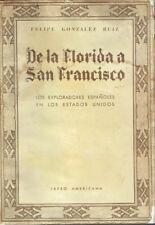De la Florida a San Francisco. F. González Ruíz.