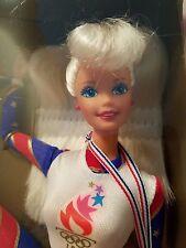 Barbie Olympic Gymnast 1996 Atlanta Platinum Blonde