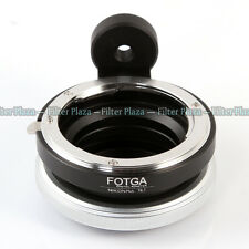 FOTGA Tilt Adapter Ring for Nikon AI F lens To Micro Four Thirds M4/3 M43 Camera