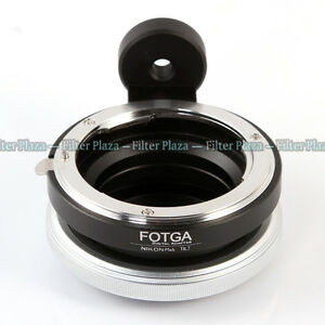 FOTGA Tilt Adapter Ring for Nikon AI F lens To Micro Four Thirds M4/3 M43 Camera