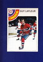 Guy Lafleur HOF 1978-79 O-PEE-CHEE OPC Hockey #90 (NM+) Montreal Canadiens