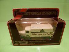 MATCHBOX YESTERYEAR Y6 MERCEDES BENZ L5 LORRY 1932 - STUTTGARTER HOFBRAU  IN BOX
