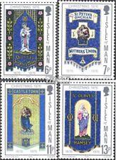 Verenigd Koninkrijk-Island Man 88-91 postfris 1976 100 Years Moederdag verenigin