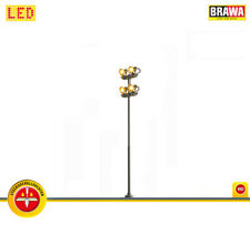 BRAWA 84152 Flutlicht Stecksockel 4-fach [alt 84052] ++ NEU & OVP