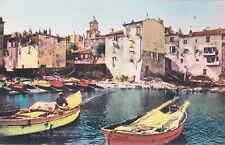 Carte postale ancienne VAR SAINT-TROPEZ 20 vieux port des pêcheurs