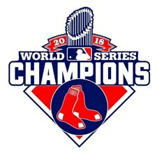 "Boston Red Sox World Series 2018 Champions Vinyl Decal Sticker 4"" Championship C"