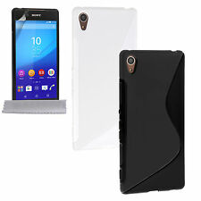 Caseflex Accessories Sony Xperia Z3+ Plus Soft Silicone S-line Phone Case Cover