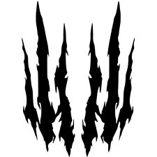 Claw Marks Vinyl Sticker Decal Halloween Creepy - Choose Size & Color