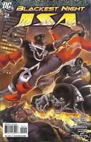 Jsa Comic Issue 2 Blackest Night Modern Age First Print 2010 Robinson Bedard DC