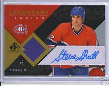 Steve Shutt 07-08 UD SP Game Used Auto/Jsy Card /25