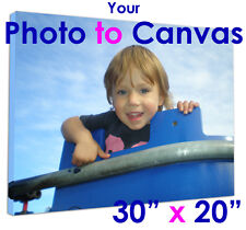 Your Photo Printed to A1 BOXED CANVAS Gift/present