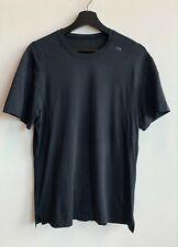 Lululemon Metal Vent Tech Black T-Shirt W/ Pocket Men's Size MEDIUM