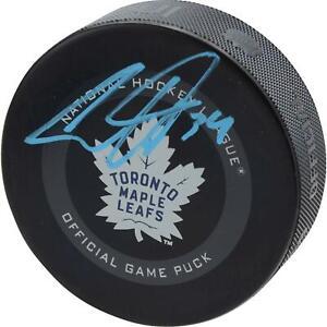 Auston Matthews Toronto Maple Leafs Signed Official Game Puck - Fanatics