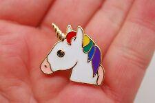 Unicorn Metal Enamel Pin Badge Emoji Design
