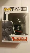 Funko Pop! Star Wars 01 Darth Vader Pop Vinyl Figure Bobble Head FU2300