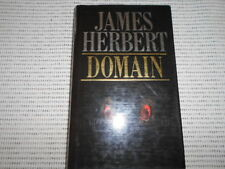 DOMAIN by James Herbert - UK 1st Edition - Horror Classic - The Rats