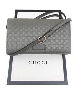 Gucci Microguccissima Wallet Bag NWT