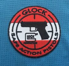 GLOCK SAFE ACTION PISTOLS SIG SAUER GUN MILITARY FIREARMS IRON SEW ON PATCH
