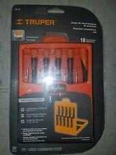 TRUPER JOY-10 10 PZ PRECISION SCREWDRIVER SET