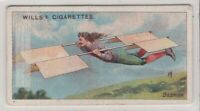 1678 Besnier's Flying Gliding Machine France 100+ Y/O  Trade Ad Card