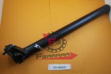 F3-100337 Canotto tubo Sella mm 27,2 X 350 NERO SATINATO Bicicletta Bike CITY BM
