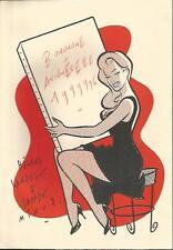 Walter Minus – Dessin original pour une carte voeux en 1996