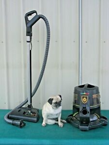 RAINBOW E2 Type 12 BLACK Vacuum Cleaner w/ Motorized Power Head Hose Assembly