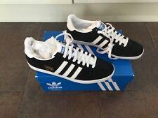 Adidas Gazelle OG (G13265) Size 10 Trainers - Black/White - New & Boxed