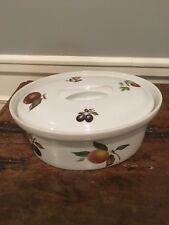 BIA CORDON BLEU Oval Covered Casserole with Lid Fruit Pear Apple
