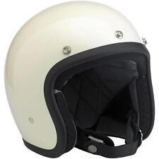 Biltwell Inc Bonanza Open Face Helmet - White