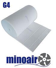 Filtermatte G4 1m x 1m x ca. 8-10 mm, weiß Filtervlies, Mattenfilter, Vorfilter