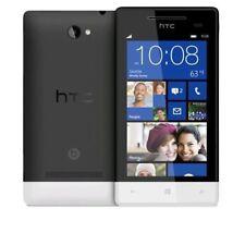 BNIB 4GB HTC 8S Domino Black/White Windows Phone Factory Unlocked GSM OEM