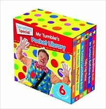 Something Special Mr Tumble's Pocket Library Board book Age 2-4 Set of 6 Learn