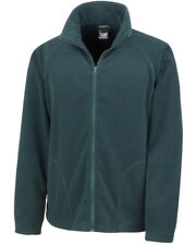 """Result Core Micron Fleece Jacket 8 Colours 34"""" - 53"""" 2xl Forest Green"""