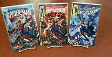 Peter Parker Spectacular Spider-Man #1 J Scott Campbell Signed Set In Stock