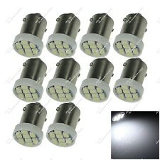 10X White BA9S 12814 8 SMD 1206 LED Interior Lamps Side Marker Light Auto ZK011