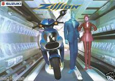 Scooter Brochure - Suzuki - Zillion - Liquid Cooled - 1998 (Dc415)