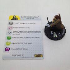 Heroclix Hobbit: Desolation of Smaug Bard the Bowman #009 Gravity Feed w/card!