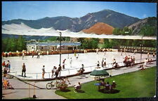 SUN VALLEY Idaho ~ 1950's OPEN AIR OLYMPIC ICE RINK ~ Ice Skating !