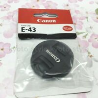 Canon E-43 Front Lens Cap 43mm for EF-M22mm F2 STM JAPAN