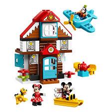 LEGO DUPLO 10889 Disney Junior Mickey's Vacation House Building Kit w/ 4 Figures